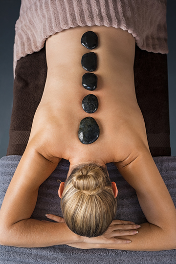 Hot stone massage in luton