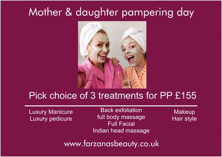Pamper packages in Luton